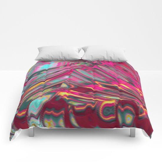 fantasy colour 5 Comforters