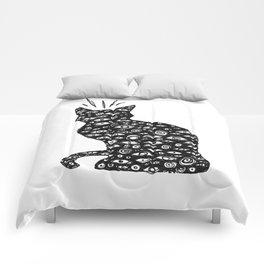 Cat Eyes Comforters