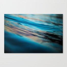 Oily Reflection Canvas Print