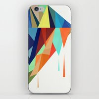 diamond iPhone & iPod Skins featuring Diamond by By Nordic