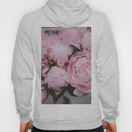 Pink Flowers Photography Hoody