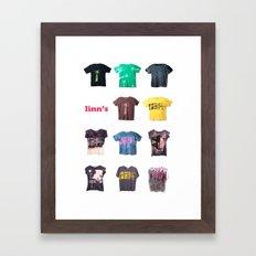 T shirts urbanics Framed Art Print