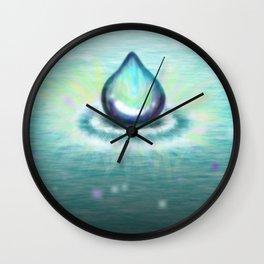 Magic Water Wall Clock