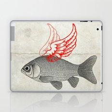 Flying Goldfish Laptop & iPad Skin