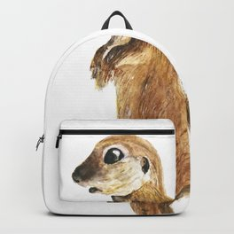 cute little otter Backpack