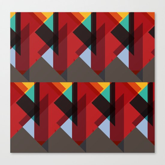 Crazy Abstract Stuff Canvas Print