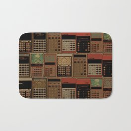 Numbers Bath Mat