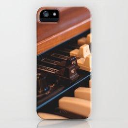 Hammond Closeup iPhone Case
