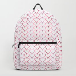 Dotted Hearts Backpack