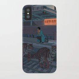 Tiger Station iPhone Case