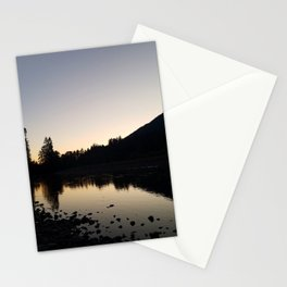 Cowlitz River Sunset Stationery Cards