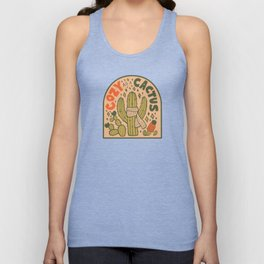 Cozy as a Cactus Unisex Tank Top