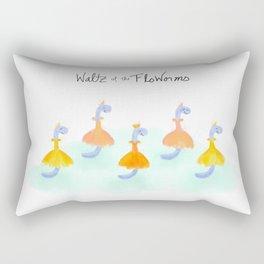 Waltz of the FloWorms Rectangular Pillow