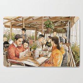 Farm Cafe Cutting Board