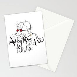 Angry Old Hippie (Original) Stationery Cards