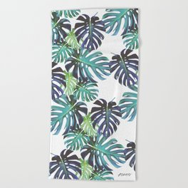 Monstera Bondi Beach Towel