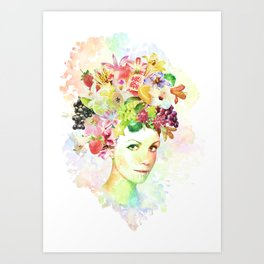 Days of summer Art Print