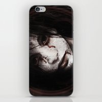 silent hill iPhone & iPod Skins featuring Silent Hill: Alessa Gillespie by hinterdemlicht
