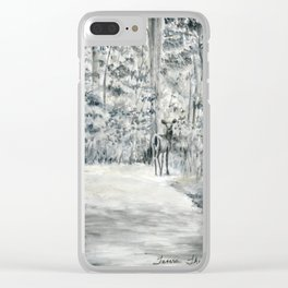 Follow Me by Teresa Thompson Clear iPhone Case