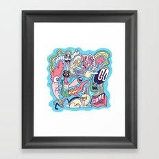 Doodle #2389 Framed Art Print