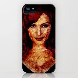 christina hendricks iPhone Case