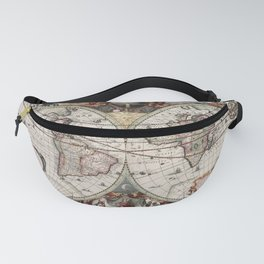 Vintage Maps Of The World Fanny Pack