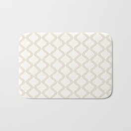 Alva Pattern - Coconut Bath Mat