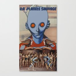 Le Planete Sauvage (Fantastic Planet) Reimagined  Canvas Print