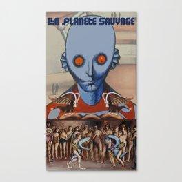 Le Planete Sauvage (Fantastic Planet) Reimagined  Canvas Print