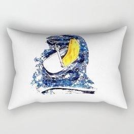 Verdrängungswettbewerb - Kunst Rectangular Pillow