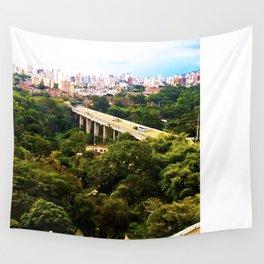 Green Santander. Wall Tapestry