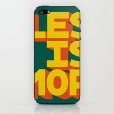 LES IS MOR iPhone & iPod Skin