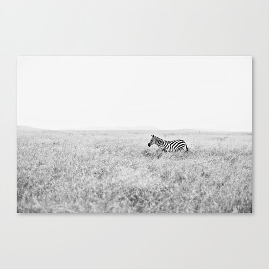 into the wild::kenya Canvas Print
