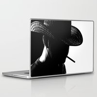 cowboy Laptop & iPad Skins featuring Cowboy by Faruk Taşdemir