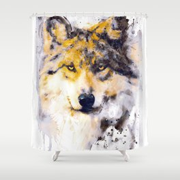 The Pack Leader Shower Curtain