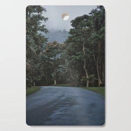 Hawaii Road To Paradise Cutting Board