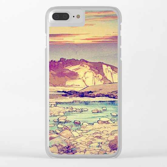 Sunset at Yuke Clear iPhone Case
