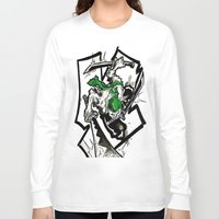 one piece Long Sleeve T-shirts featuring One Piece - Zoro by RISE Arts