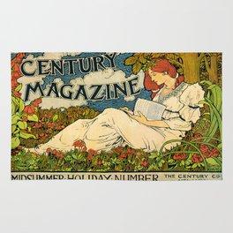 Vintage poster - Century Magazine Rug