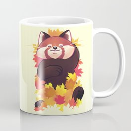 Relaxing Red Panda Coffee Mug