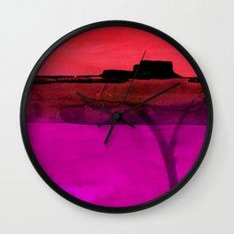 Mesa No. 100F by Kathy Morton Stanion Wall Clock
