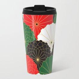 Japanese Chrysanthemum Travel Mug