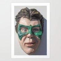 Super Sidekick Art Print
