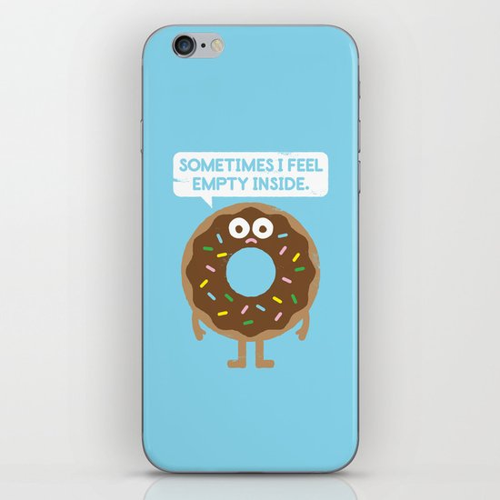 It's Not All Rainbow Sprinkles... iPhone & iPod Skin