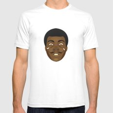 Coupling up (accouplés) Muhammad Dali SMALL White Mens Fitted Tee