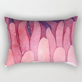 pink tentacles Rectangular Pillow
