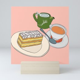 Aftenoon Cake Treat Mini Art Print