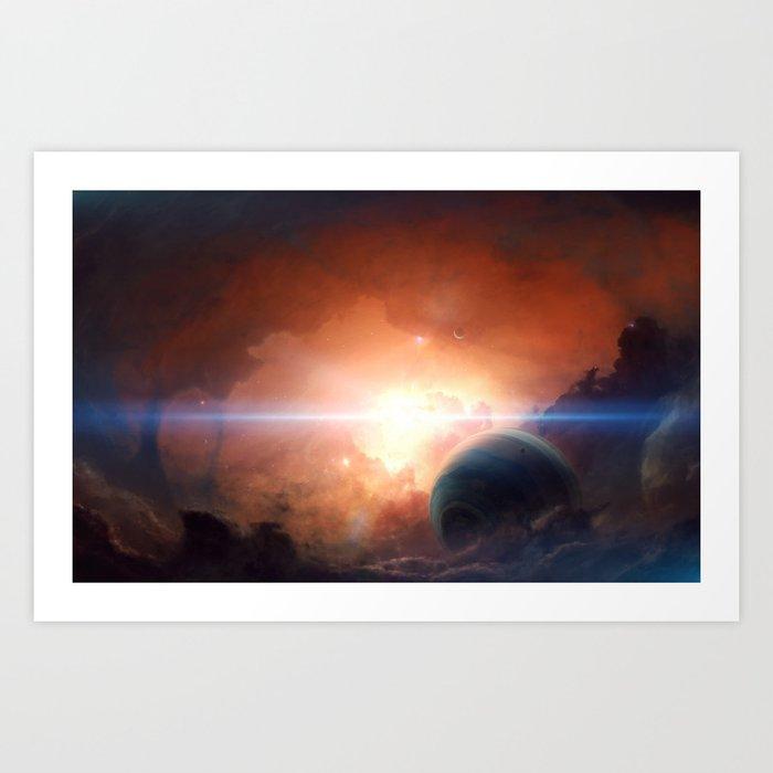 Perseus Prime Art Print