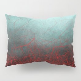Abstract Boxes Underwater Pillow Sham