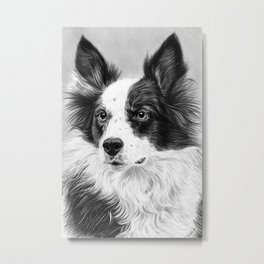 Dog Portrait 02 Metal Print
